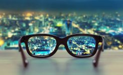 Multifokálne okuliarové šošovky