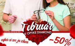 Február v Optike Diamond
