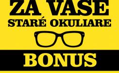 Získajte BONUS so šrotovným na vaše okuliare