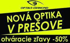 Nová OPTIKA v Prešove