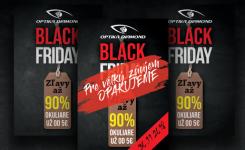 BLACK FRIDAY v Optike Diamond – Pre veľký záujem opakujeme
