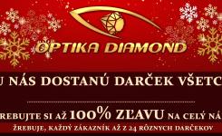 December v Optikách Diamond