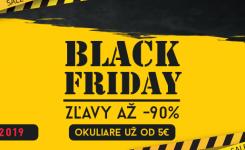 BLACK FRIDAY – zľavy až do -90%